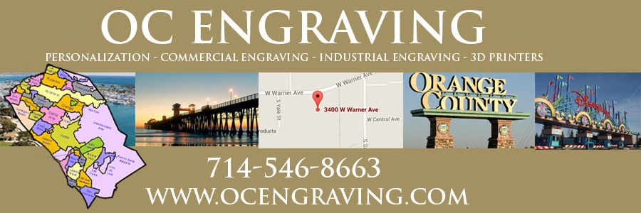 OC Engraving - Orange County Engraving Services