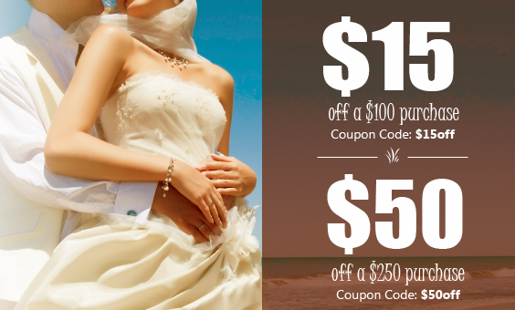 Coupon Discount for Weddings